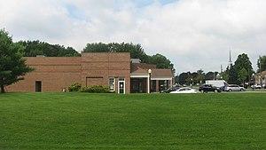 Poland, Ohio - Post office along McKinley Way
