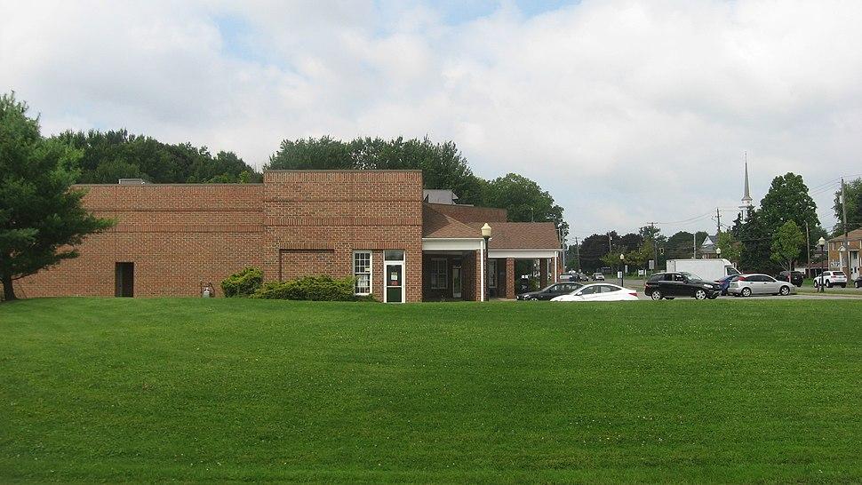 Post office along McKinley Way