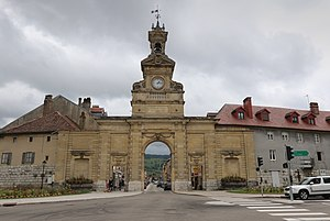 Pontarlier - Triumphal arch of the Porte Saint-Pierre