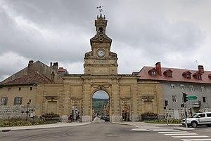 Pontarlier - Triumphal arch of the Porte Saint-Pierre