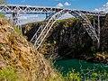 Ponte sob o rio São Francisco na divisa de Alagoas com a Bahia.jpg