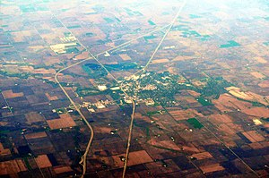 Pontiac, Illinois - Aerial view of Pontiac, 2012