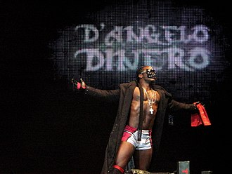 D'Angelo Dinero - D'Angelo Dinero at a TNA wrestling event in 2010.
