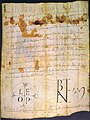 Pope Leo IX, Charter, 1051.jpg