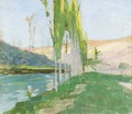 Poplars Growing near a Watercourse (Richard Bergh) - Nationalmuseum - 23029.tif