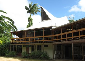 University of the South Pacific - Campus in Port Vila, Vanuatu, in 2013