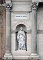 Porta Pia - Statue of Saint Agnes.jpg