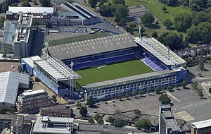 Ipswich Town F.C. - Aerial view of Portman Road