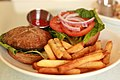 Portobello Mushroom Burger at Loving Hut Restaurant.jpg