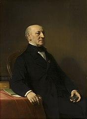 Portrait of Jean Zacharia Mazel (1792-1884)