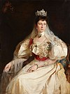 Portrait of Knyaginya Marie Louise of Bourbon-Parma of Bulgaria - oil painting.jpg
