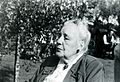 Portrait of Melanie Klein, taken outdoors Wellcome L0018669.jpg