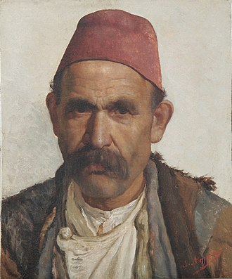 Simon Agopyan - Image: Portrait of a Hamal from Moush