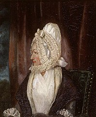 Portrait of a Lady in a White Bonnet