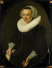 Portrait Maria Joachimsdr Swartenhont (1598-1631)