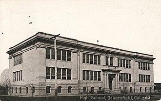 Bakersfield High School - Bakersfield High School in 1917
