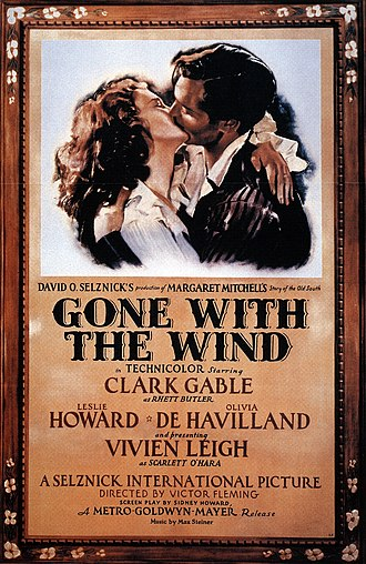 Gone with the Wind (film) - Theatrical pre-release poster