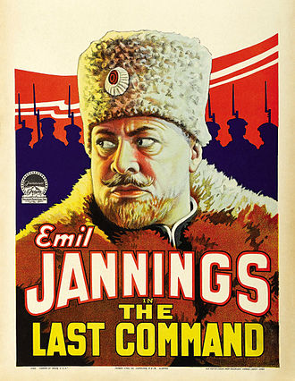 The Last Command (1928 film) - Image: Poster Last Command, The (1928) 01