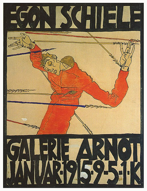 Poster for exhibition at the Galerie Arnot