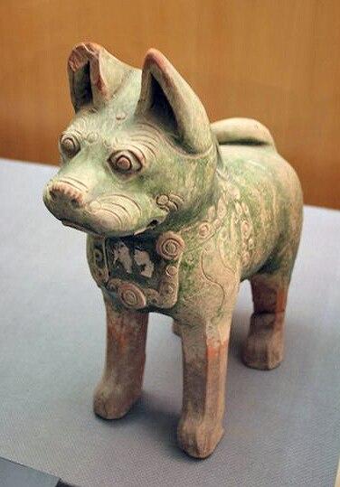 Pottery dog 1