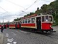 Průvod tramvají 2015, 11a - tramvaj 2222 a 1111 a 1219.jpg