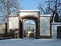 Praha, Liboc, obora Hvězda, brána Libocká, 01.jpg