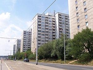 Vokovice - block of flats - Červený vrch, Evropská