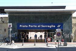 Prato Porta al Serraglio station