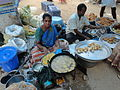 Preparation of food items in a market at pakala.JPG