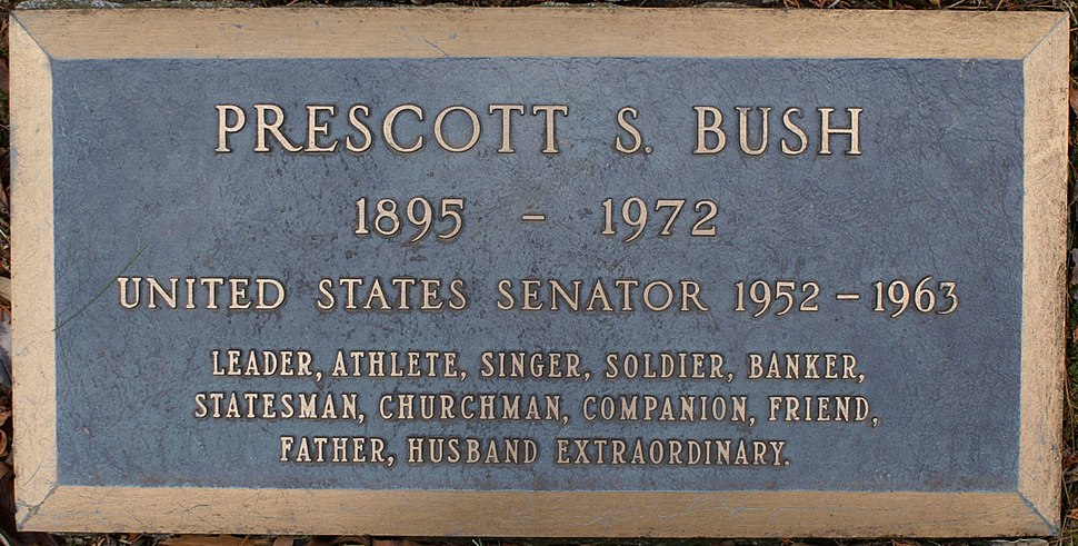 Prescott Bush Grave