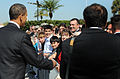 President, Vice President Arrive at MacDill DVIDS245757.jpg
