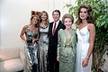 President Ronald Reagan and Nancy Reagan posing for photo with Christie Brinkley, Cheryl Tiegs, and Brooke Shields.jpg