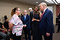 President Trump and the First Lady in Dayton, Ohio (48482956121).jpg
