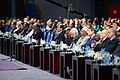 President al-Sisi Listens as Secretary Kerry Addresses Audience of Several Thousand Attending Egyptian Development Conference in Sharm el-Sheikh.jpg