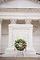 President of Italy lays a wreath at the Tomb of the Unknown Soldier in Arlington National Cemetery (24252615763).jpg