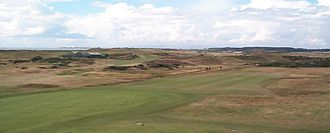 The Open Championship - Prestwick Golf Club, site of the first Open Championship in 1860