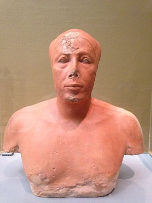 Ankhhaf (sculpture) - Bust of Prince Ankhhaf, at the Museum of Fine Arts, Boston