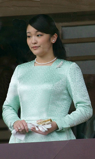 Princess Mako of Akishino - Princess Mako during the New Year's Greeting in 2015