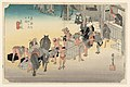 Print, Fujiyeda Post Station, in The Fifty-Three Stations of the Tokaido Road (Tokaido Gojusan Tsugi-no Uchi), ca. 1834 (CH 18608849-2).jpg