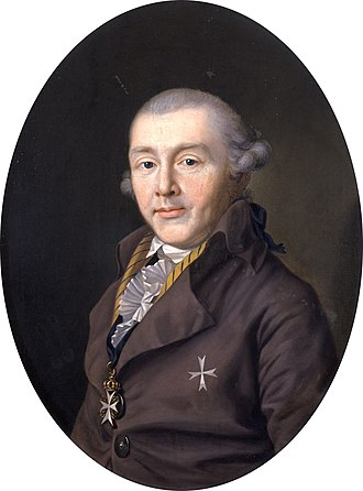 Prince August of Saxe-Gotha-Altenburg - August of Saxe-Gotha-Altenburg by Ernst Christian Specht, 1795