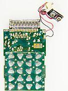 Privileg 833 K - keyboard side of printed circuit board-0331.jpg