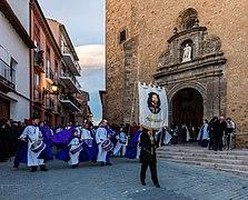 Procesión del Santo Entierro del Viernes Santo, Ágreda, Soria, España, 2018-03-29, DD 12.jpg