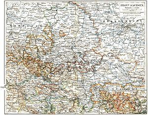 Province of Saxony - The Province of Saxony before 1918
