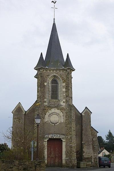 Église de Pruillé.