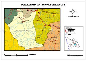 Mandailing Natal Regency - Subdistric Sorikmarapi Highland without Batang Gadis National Park