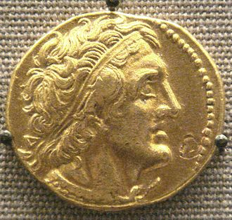Ptolemy I Soter - Tetradrachm with portrait of Ptolemy I, British Museum, London