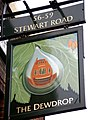 Pub Sign in Stewarts Road - geograph.org.uk - 1580570.jpg