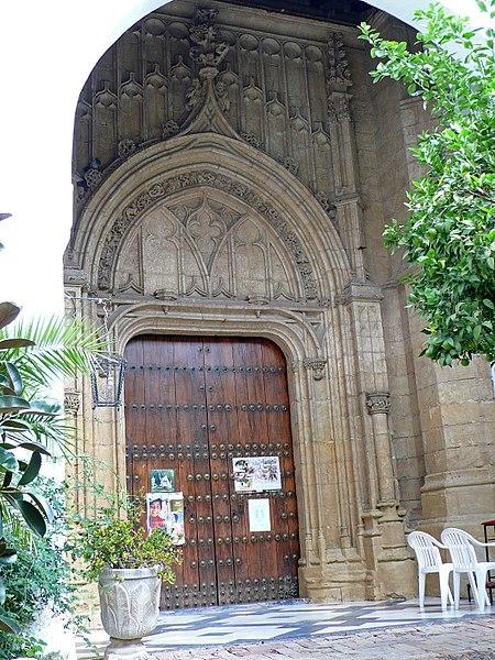 File puerta de entrada al convento de santa marta c rdoba - Puerta de entrada ...
