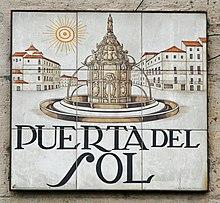 Estatua y fuentes de la mariblanca wikipedia la for Fuente de la puerta del sol