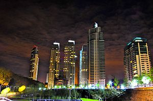 Puerto Madero - Puerto Madero at night